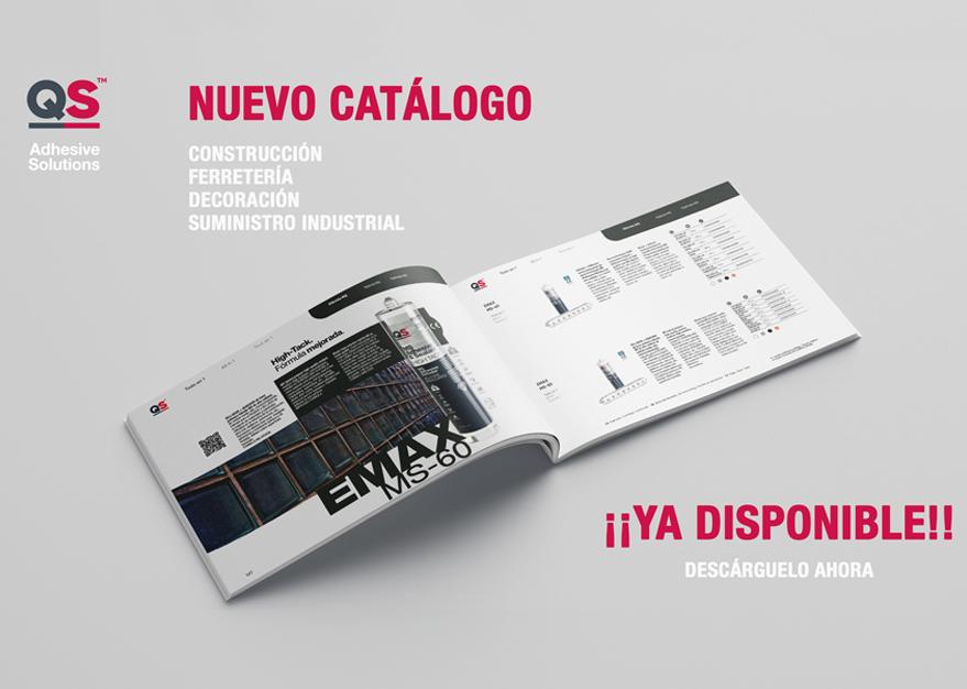 Nuevo Catálogo QS para Suministros Industrial, Construcción, Ferretería Bricolaje y Decoración